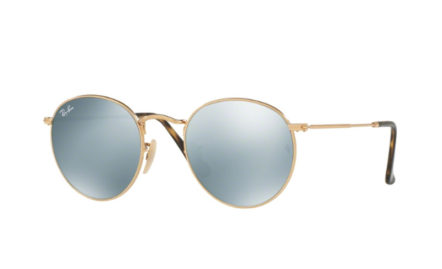 Ray-Ban RB3447N – ROUND METAL | Lunettes de soleil homme